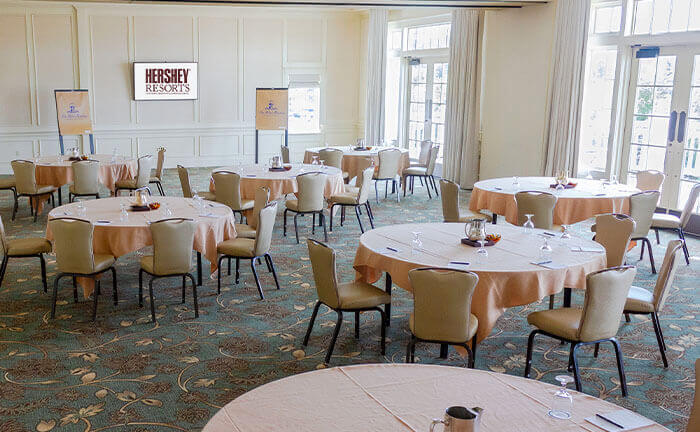 Blue Mountain Meeting Space at The Hotel Hershey