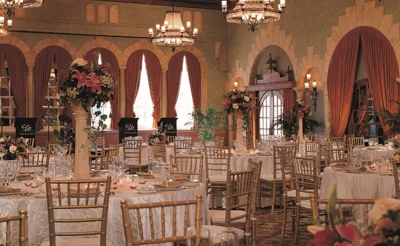 Banquet in Castilian Room