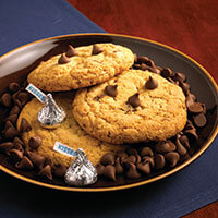 Chocolate Chip cookies with Hershey Kisses