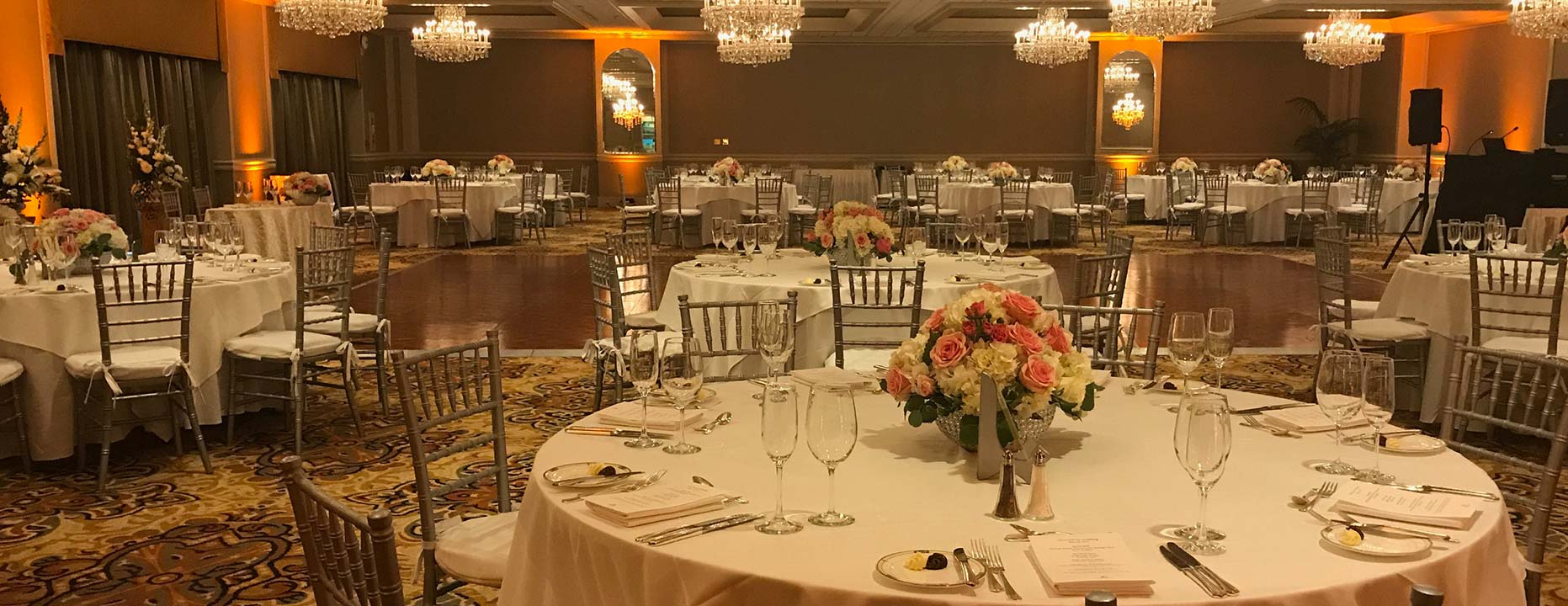 Garden Terrace ballroom at The Hotel Hershey