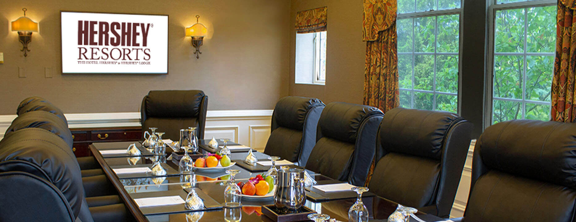 Witmer Boardroom at The Hotel Hershey